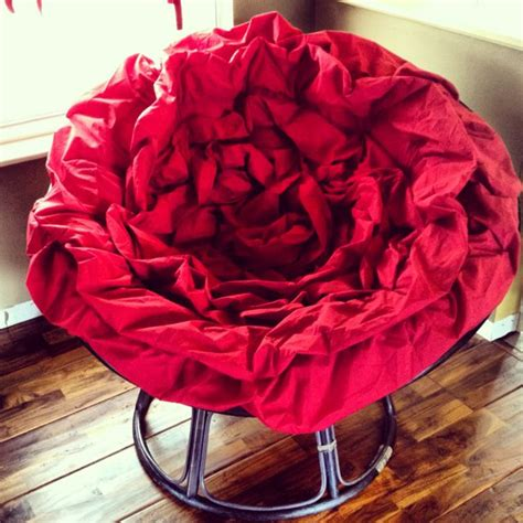 papasan cusions love my red rose papasan cushion comfy home pinterest