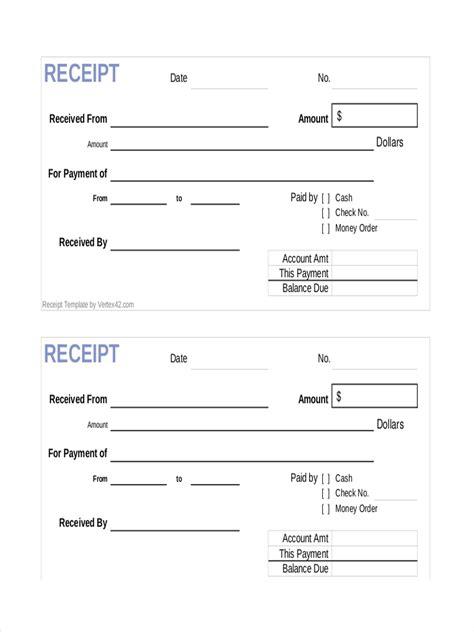 sample receipt of payment payment receipt acknowledgement letter