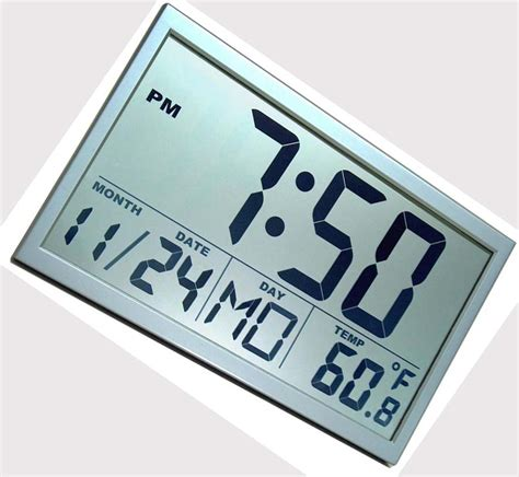 digital wall clocks large digital wall clock