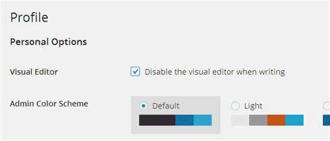 wordpress theme editor disable how to remove or replace the wordpress visual editor