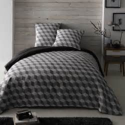 King Size Bedding In Cm Cubic Cotton King Size Bedding Set In White Grey 240 X