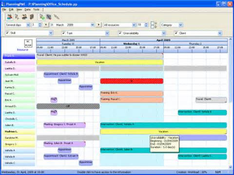 resource schedule template all posts tagged resource planning