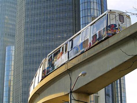 Detroit Light Rail by Detroit Rail Transit Light Rail Streetcar Developments