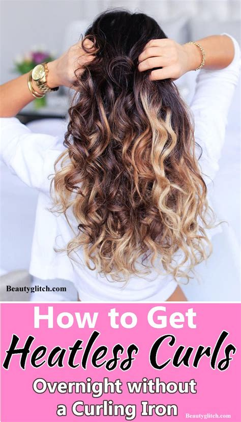 how to curly bob without curly iron how to get heatless curls overnight without a curling iron