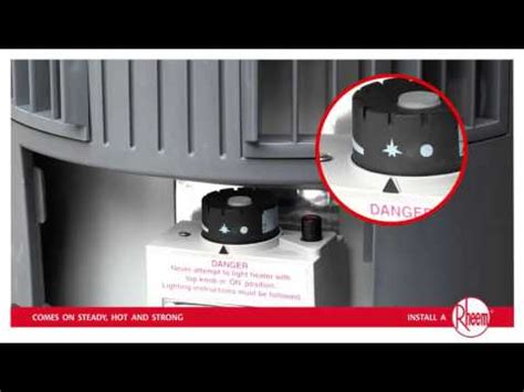 light gas and water number how to relight rheem stellar gas water