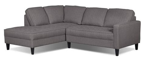 devon 5 piece microsuede sectional brown the brick living room furniture the brick