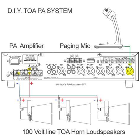 Toa Pa System 1 toa pa installation mixer lifier