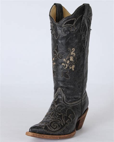 corral boots 174 vintage lizard inlay boots fort brands