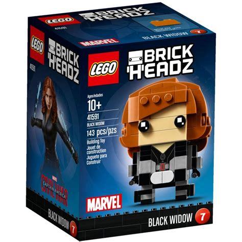 lego 41591 black widow lego 174 sets brickheadz mojeklocki24