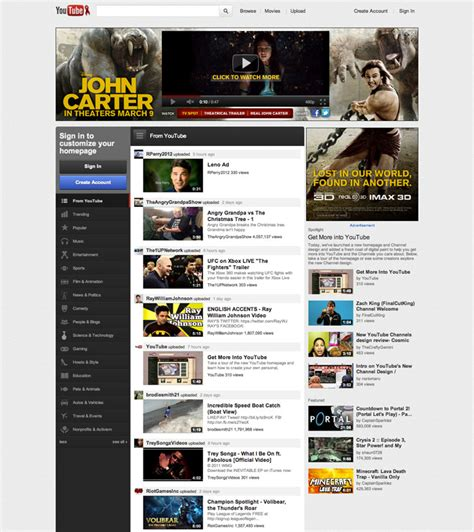 youtube design guidelines updated prepare for the new youtube channel design with