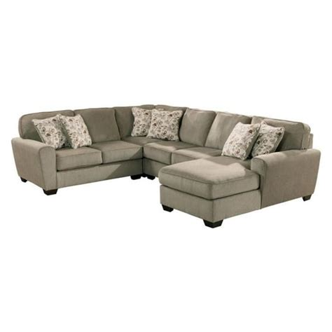 nfm sectionals patola park 4 piece sectional in patina nebraska