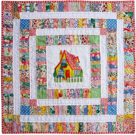 Cottage Doll Quilt Finished Q Is For Quilter Cottage Quilts