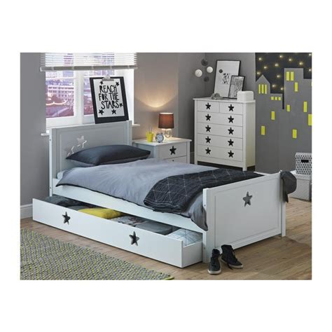 bedroom storage argos buy collection stars single bed with drawer white at
