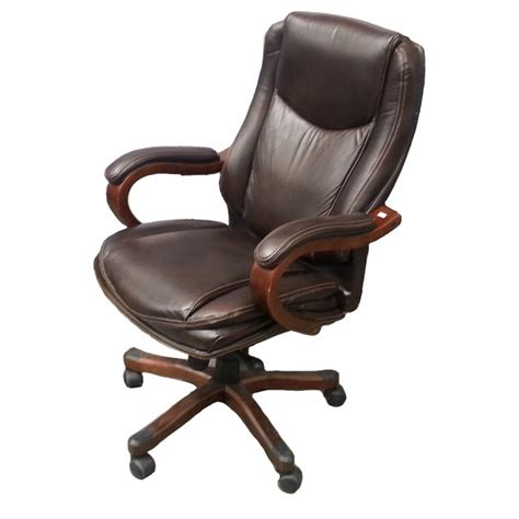 true innovations simply comfortable bonded leather executive chair true innovations active lumbar office chair black true
