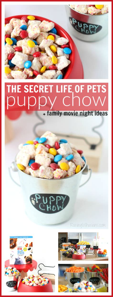 secret life  pets puppy chow family  night ideas