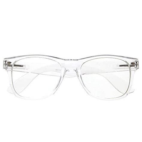 grinderpunch wayfarer clear frame lens transparent