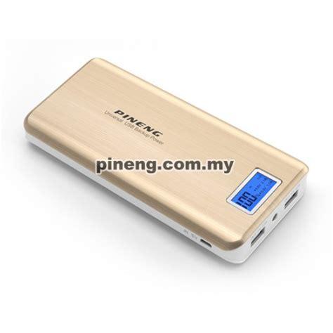 Power Bank Pineng 20000mah pineng pn 999 20000mah power bank gold