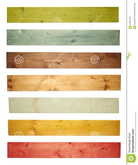 colored pine wood board plank isolated stock photo image 51363140