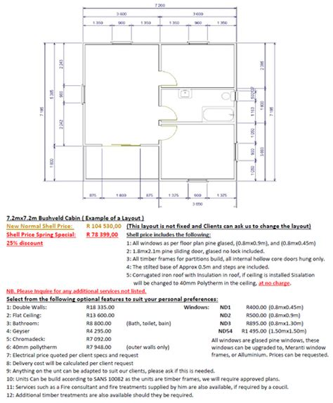 floor plans specifications wooden cottage floor plans specifications cosy cabins