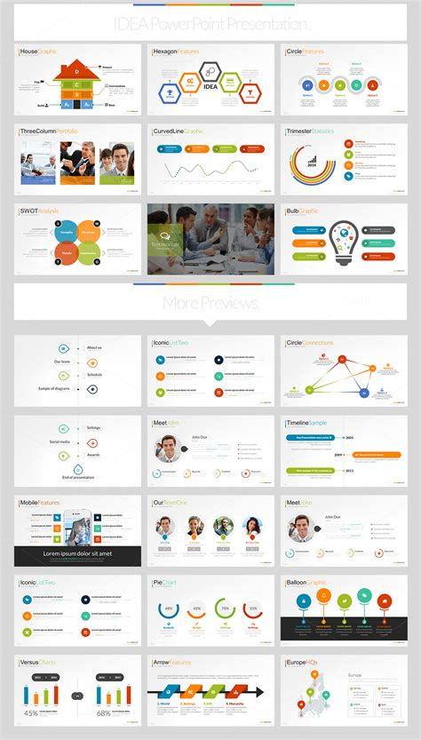 powerpoint template torrent creativemarket idea flat powerpoint