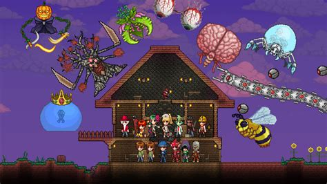 how to make a house in terraria terraria how to make npc houses tutorial 1 youtube