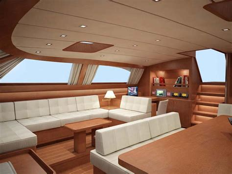 yacht interior design the baltic 112 sailing yacht nilaya saloon interior design