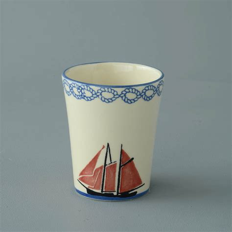 small boat bathroom bathroom beaker small boat sailing brixton pottery
