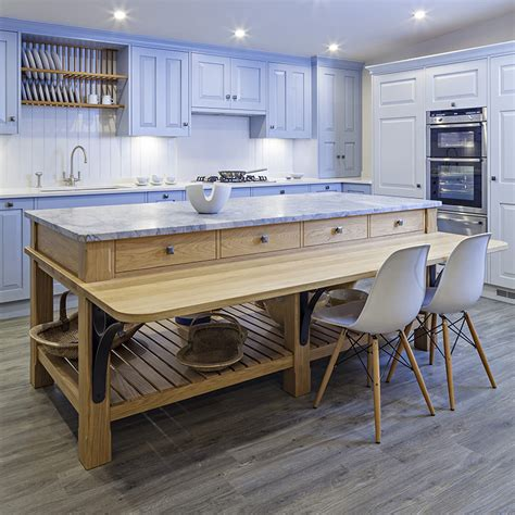 free standing kitchen islands uk baffling free standing kitchen islands with breakfast bar