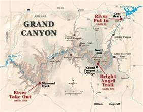 arizona map with grand river map grand