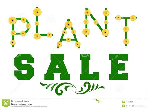 garden sale http www dreamstime stock image plant sale sign says