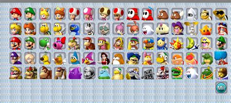 all mario characters together   Games Info