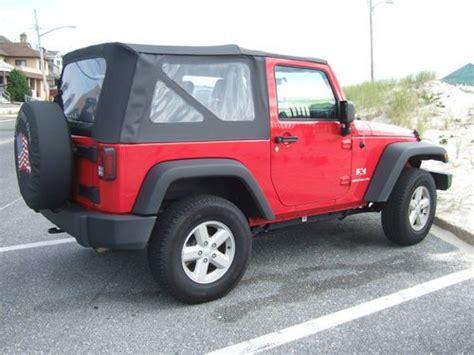 2007 Jeep Wrangler 2 Door Find Used 2007 Jeep Wrangler X Sport Utility 2 Door 3 8l