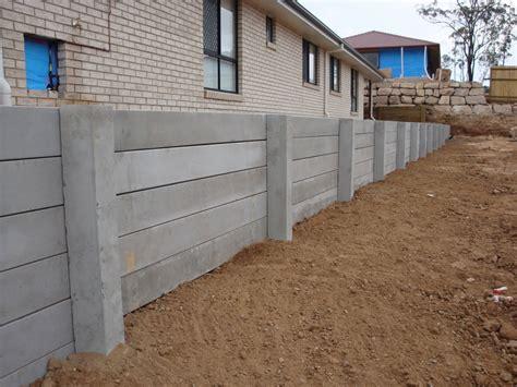 australian retaining walls concrete sleeper retaining wall
