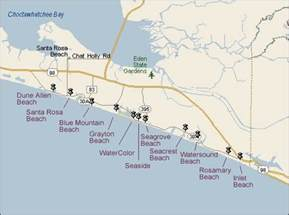 panama city and south walton maps real estate listings