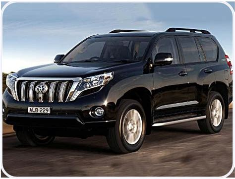 2018 toyota prado concept and specs