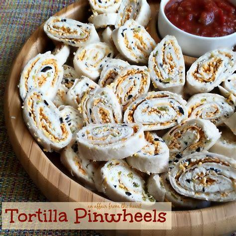 green chili cream cheese tortilla pinwheels green chilies an affair from the heart