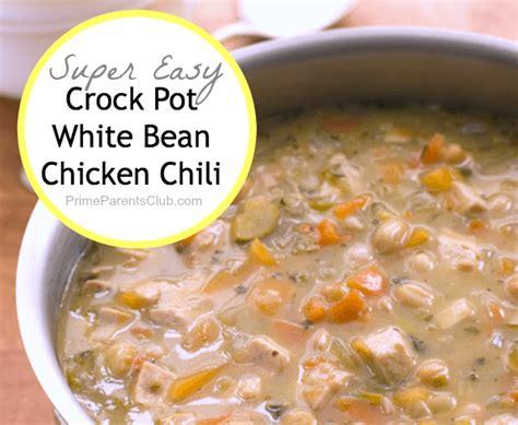 white chicken chili recipe crockpot crock pot recipes white bean chicken chili prime