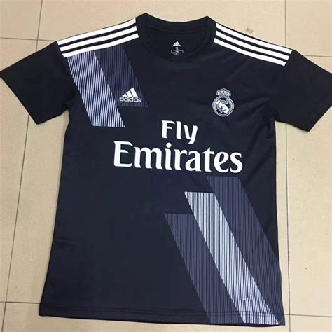 Real Madrid Edition 04 real madrid 2018 19 edition soccer jersey