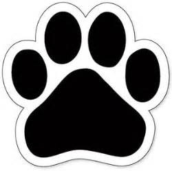 bulldog paw print clipart best