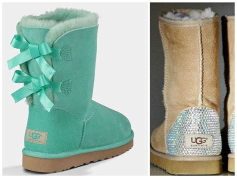 spray paint ugg boots new ugg surf spray bailey bow boots from twiggy tiger