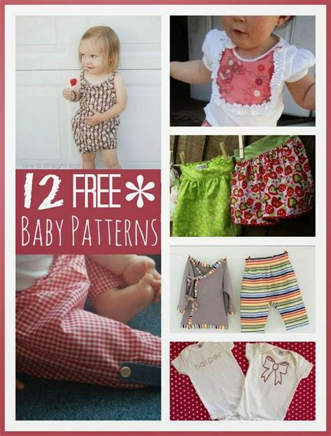 pattern baby clothes free 12 free baby clothes patterns kids clothes to sew