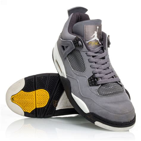 mens basketball boots air 4 retro mens basketball shoes cool grey