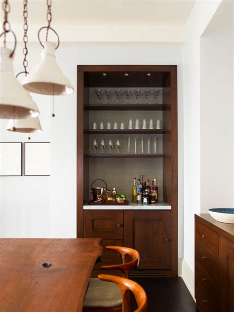 built in bar ideas built in bar ideas home bar transitional with bar bar stained wood