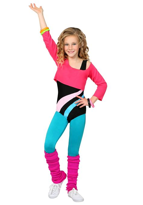 80s costume child 80 s workout costume