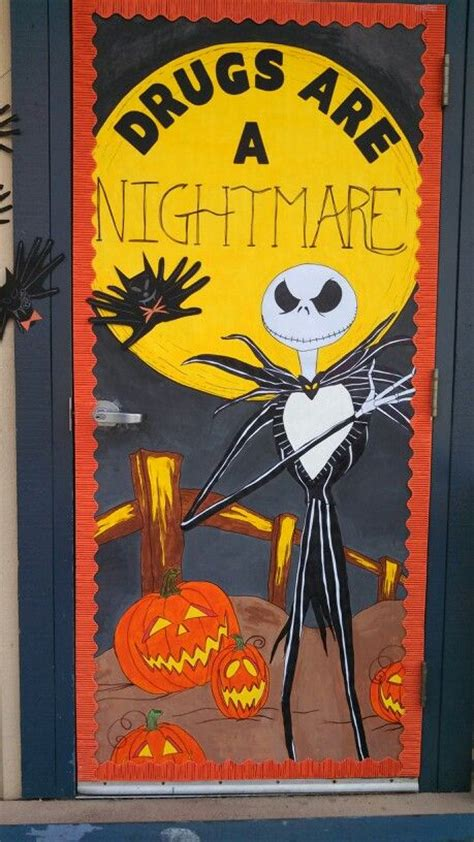 Nightmare Before Door Decorations by Ribbon Week Nightmare Before And O Connell On