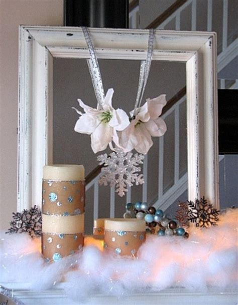 picture decorating ideas picture of cozy winter mantle decor ideas