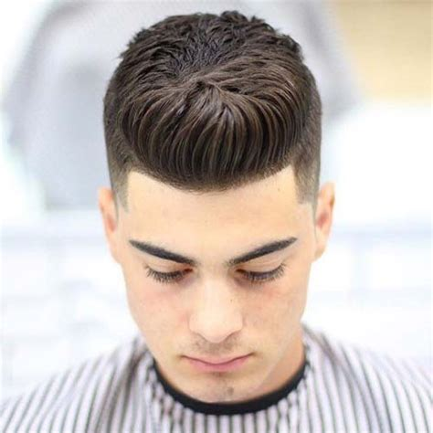 brush over hair styles for curly hair men 23 dapper haircuts for men