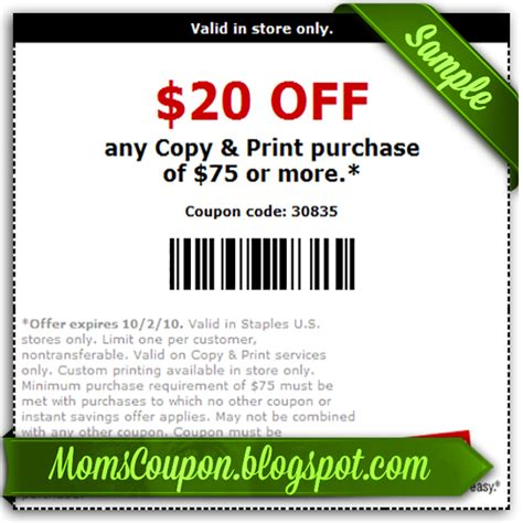 Staples Printable Coupons get more save more with free printable staples coupons