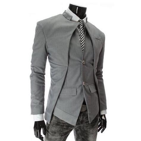 Style Korean Single Button Blazer single button mens blazers korean suit fashion 2016 slim fit casual linen blazer jacket