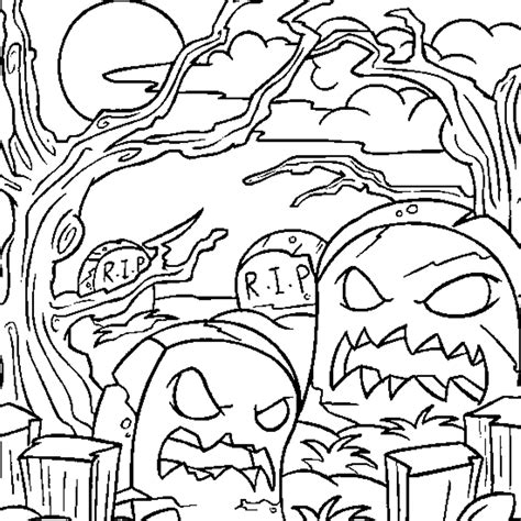 free online halloween coloring pages az coloring pages